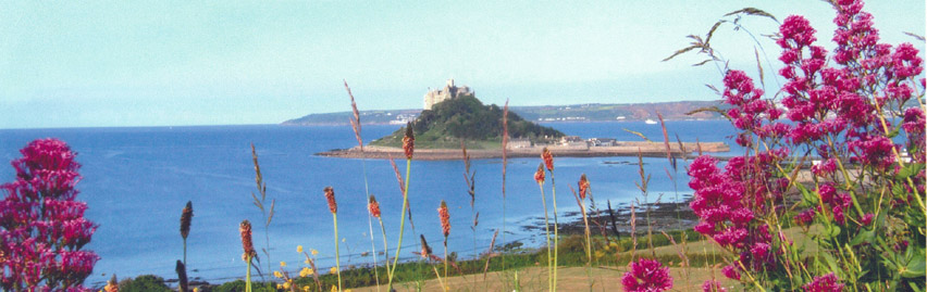 St Michael's Mount and beach (5 minutes drive away)